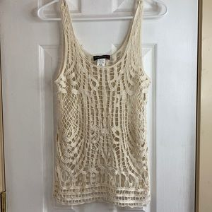 Body central size median knitted tank
